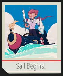 Sail Begins! by SteveAhn