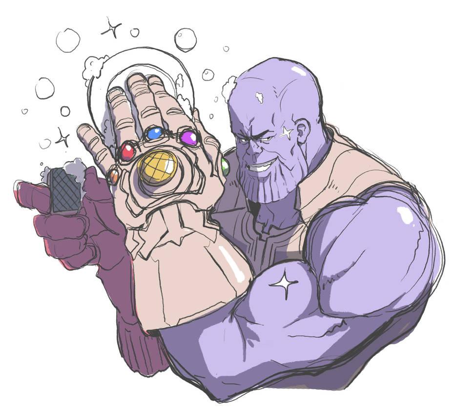 Mr. Thanos by SteveAhn