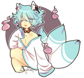 Kitsune Toby by Kemonomika