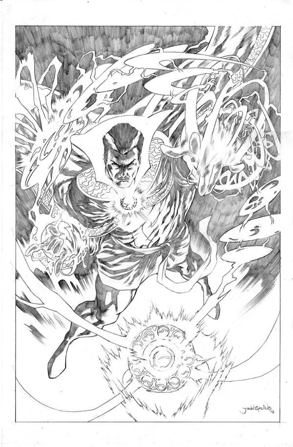 Dr. Strange commission by jgalino