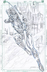 JLA Green Arrow by jgalino