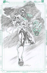 JLA Green Lantern by jgalino