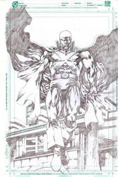 JLA Martian Manhunter by jgalino