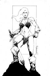 Red Sonja by jgalino
