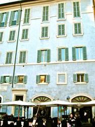 Italian Cafe, Midafternoon by sarsgaard