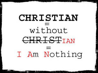 without Christ I am nothing by tataijucc