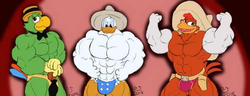 Buff Fantart Friday: The Three Caballeros by CaseyLJones