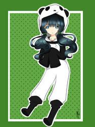 Panda desu~! by Lyra-Kizzle08
