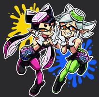 Squid Sisters by nijyu-maru