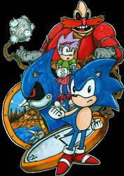 jp. Sonic CD PC Boxart by DerZocker