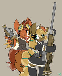 Nice Gun by bbsartboutique