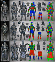 Armor Design ElderScrolls by coreyart7