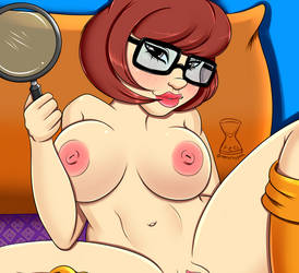 Commission: Velma Dinkley- Scooby Doo by The-Curvy-Geek