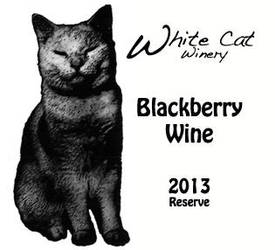 White Cat Winery Bottle Label by cfry
