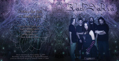 CD Artwork for Black Dahlia by Nawheera