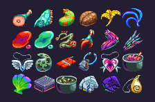 Item Icons by Squirrelsquid