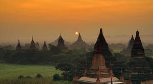 Early Morning In Bagan 2 by CitizenFresh