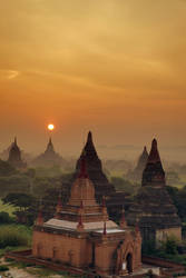 Sunrise in Bagan 3 by CitizenFresh