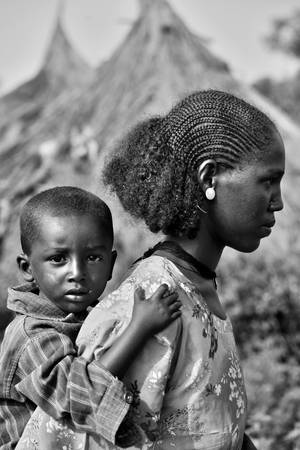 Ethiopian  Faces 2 by CitizenFresh