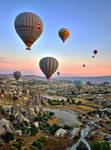 Sunrise over Cappadocia 3 by CitizenFresh