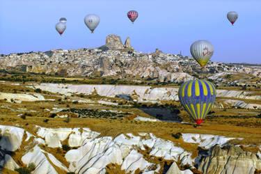 Balloons over Cappadocia 6 by CitizenFresh