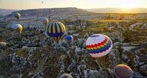 Sunrise over Cappadocia 6 by CitizenFresh