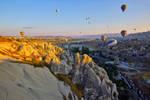 Sunrise over Cappadocia 7 by CitizenFresh