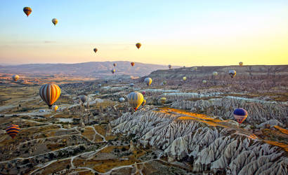 Sunrise over Cappadocia 11 by CitizenFresh