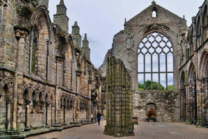 Holyrood  Abbey by CitizenFresh