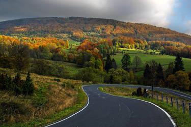 Road To Autumn Paradise by CitizenFresh