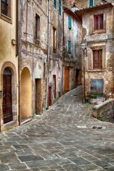 Streets of Sorano by CitizenFresh