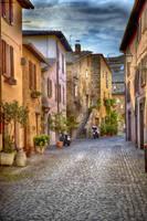 Streets of Orvieto by CitizenFresh