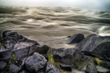 Water Impressions - Dettifoss Waterfall 2 by CitizenFresh