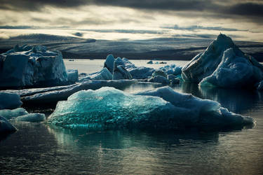 Jokulsarlon 6- late afternoon by CitizenFresh