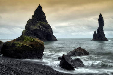 Beautiful Iceland 41 -Reynisdrangar by CitizenFresh