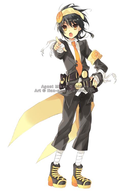 FA: Agent Mikan by lian-ne