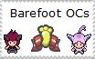 Barefoot OC stamp by Karasu-96
