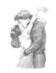 Leia-Han by LauraQuiles