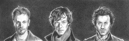 Shades of Sherlock by LauraQuiles