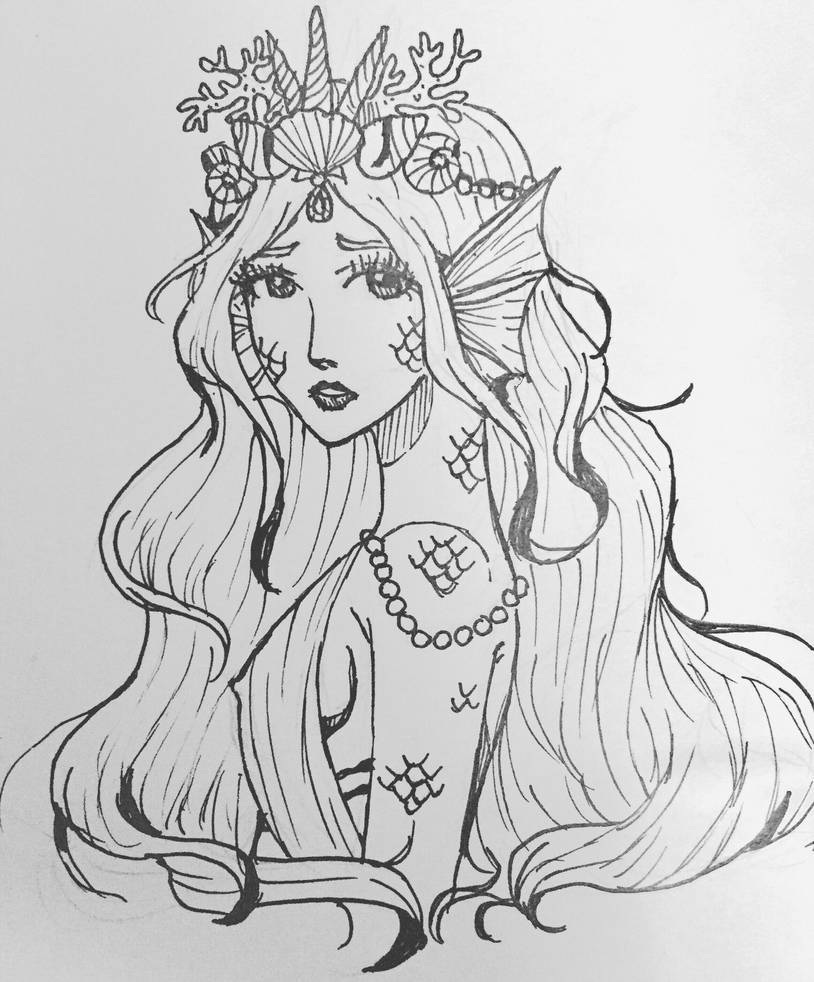 Queen of the Mermaids by Jupitra