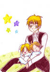 APH-MY precious family by AyanoHana