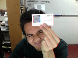 Call Card 3D by puziah
