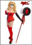 Harley Quinn in Lingerie. by Morganlefey86