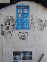 Doctor Who Project - Weeping Angels by D-Angeline