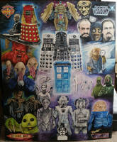 Doctor Who Project FULL VIEW by D-Angeline