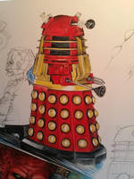 Dalek Supreme Detail by D-Angeline