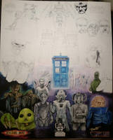 Doctor Who Project WIP FULL VIEW by D-Angeline