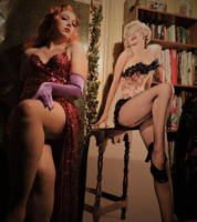 Jessica Rabbit Cosplay, feat. Marilyn Monroe by D-Angeline