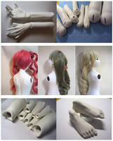 2nd Ball Jointed Doll Making-3 by hal-io