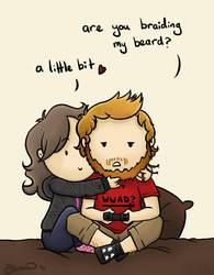 Beard Braid by PleaseFreezeMe